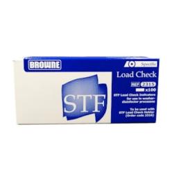 BROWNE STF Load Check Wash Check Indikatoren 100 Stück für Thermodesinfektoren