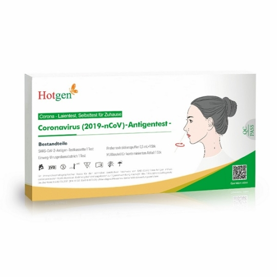 HOTGEN Corona Antigen-Schnelltest
