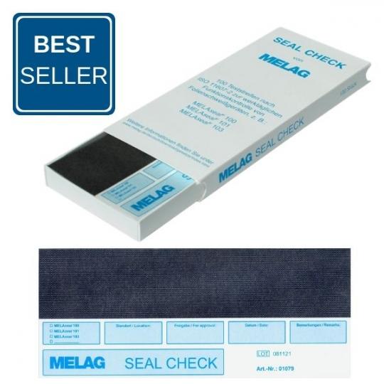 MELAG Seal Check Teststreifen, 100 Stück