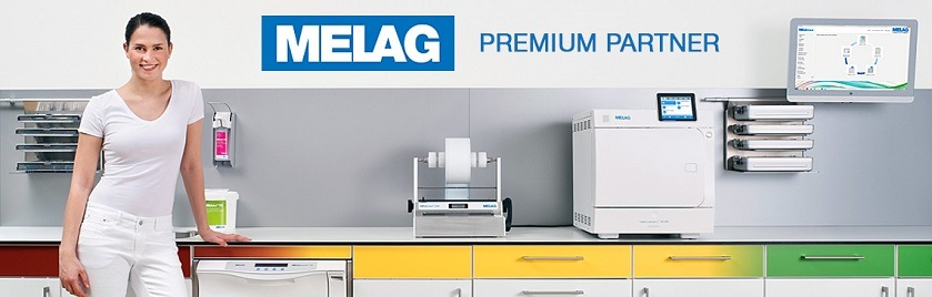 Melag Evolution 2017 Banner